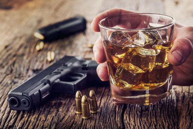 concealed carry while drinking