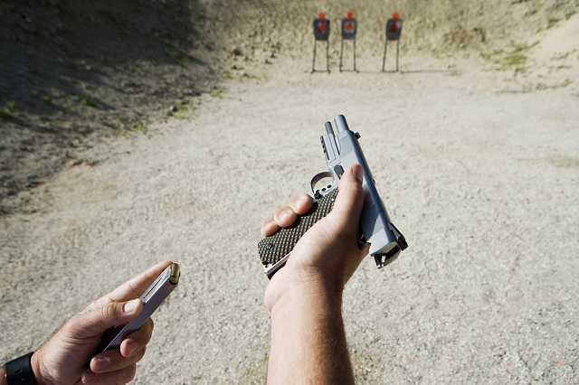 training with your handgun