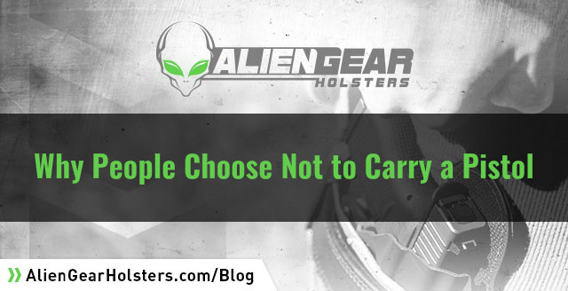 why some people dont practice concealed carry