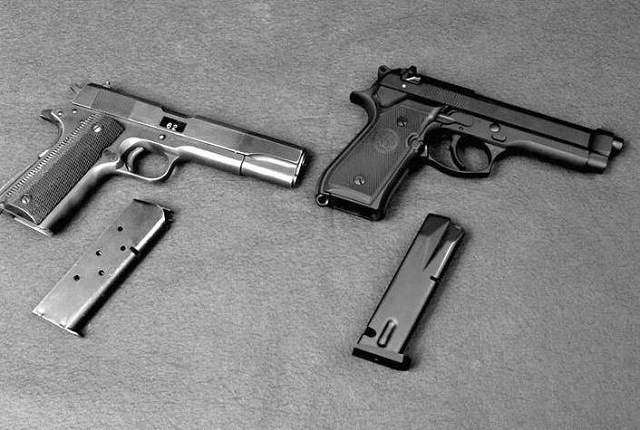 Your guide to .45 caliber handguns