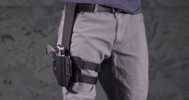 The Cloak Mod Drop Thigh holster
