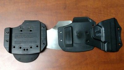 The Cloak Mod OWB Paddle Holster's layers