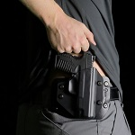 how to conceal carry with only a t-shirt on