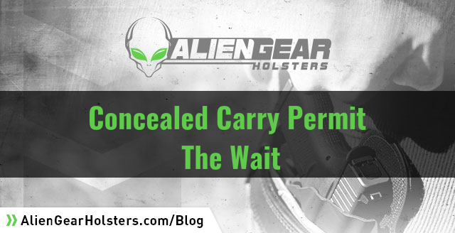 concealed carry permit wait