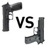 The Sig P320 vs Sig P226