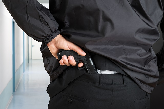 what not to do when carrying a gun