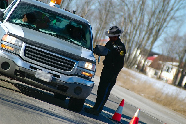 police traffic stops and concealed carry