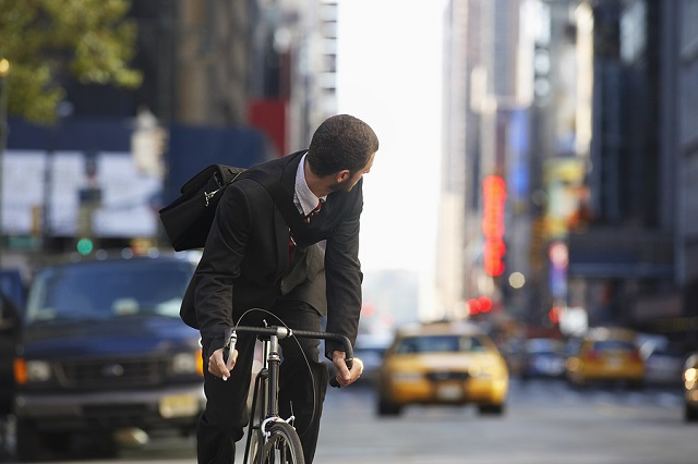 concealed carry for bicycle riders
