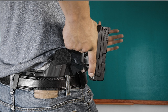gun holsters for teachers