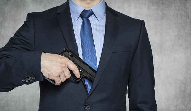 concealed carry in business attire