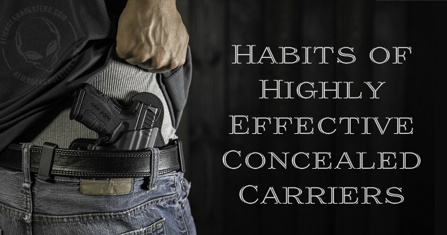 effective concealed carry habits