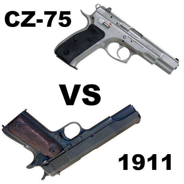CZ-75 vs 1911: Which Old School Service Gun Should I Get