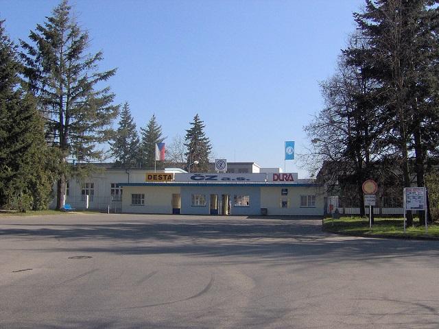 CZ's Strakonice location