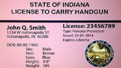 Indiana open carry permit exmaple