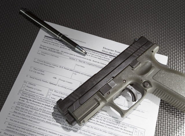Firearms background checks