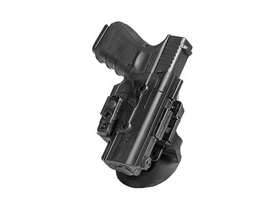 The paddle holster modular attachment