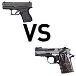 concealed carry with g43 or p938?