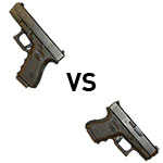 The Glock 19 vs Glock 26