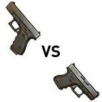 The Glock 19 vs Glock 26