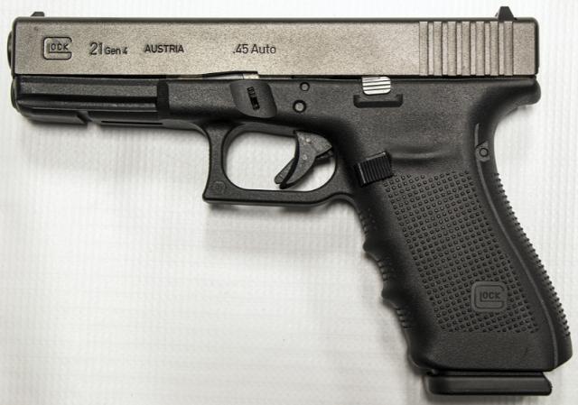 Glock 21 in 45 caliber