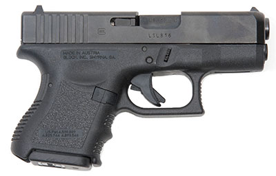 Specs of the Glock 26