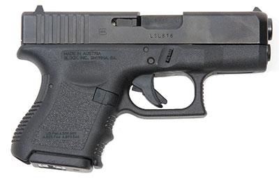 Specs of the Glock 26