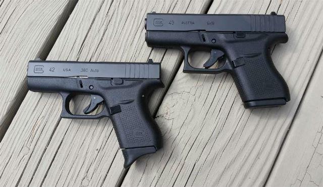 Glock 42 vs Glock 43 For Concealed Carry - Alien Gear