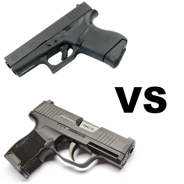 Glock 43 vs Sig P365 - Alien Gear Holsters Blog