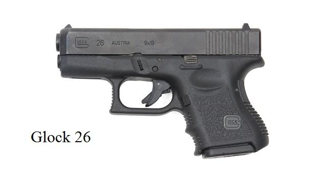 It is a Glock 26