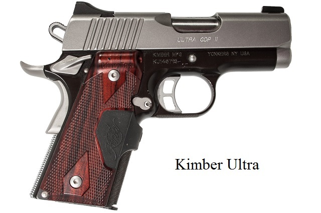It is a Kimber Ultra 1911