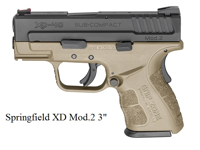 Guide To Springfield XD Pistols by Alien Gear Holsters