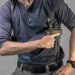 shoulder holster guide