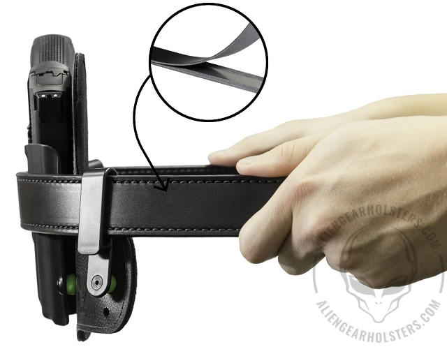 gun belts with steel core