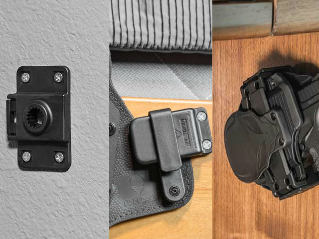 Alien Gear Holsters Holster Mounting Options