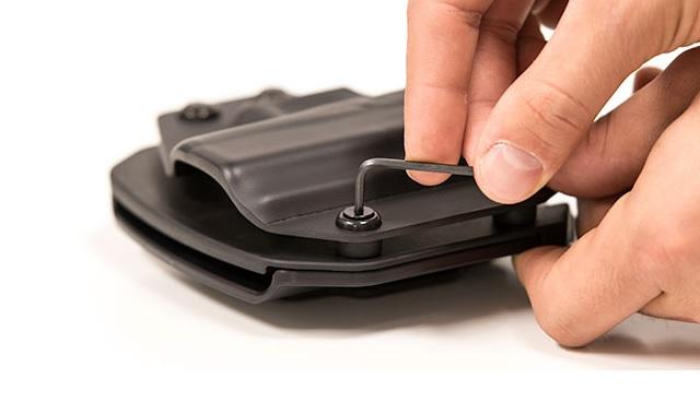 gun holster retention
