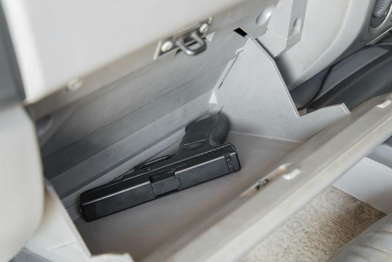 gun         carry in vehicle