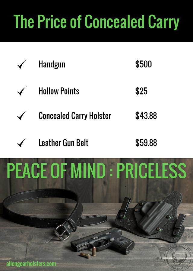 handgun ownership costs