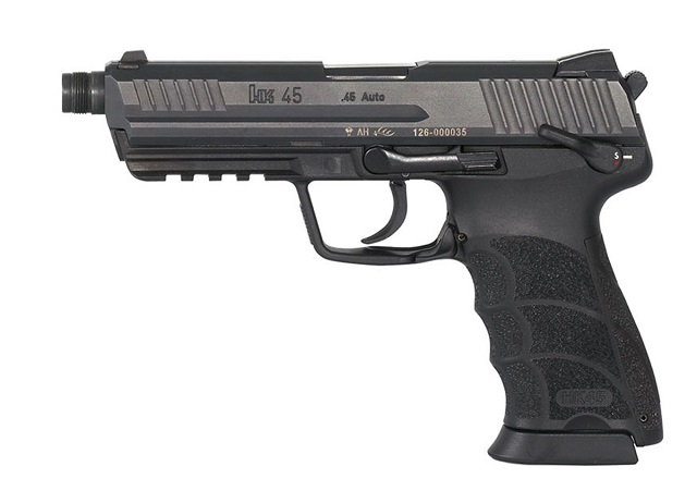 Tactical version of the HK45 in .45 caliber