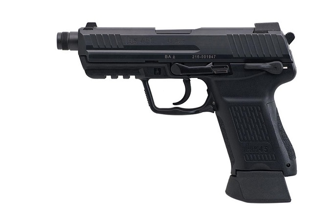 Tactical version of the HK45 Compact in .45 caliber