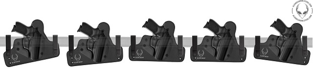 How to Wear and Adjust a Concealed Carry IWB Holster - Alien