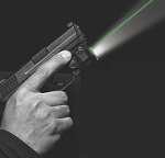 holsters with laser light