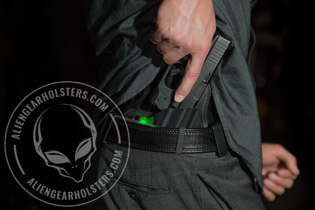 pistol holsters for laser sights