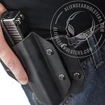 how to reholster a handgun