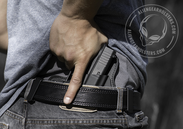 how to holster a handgun
