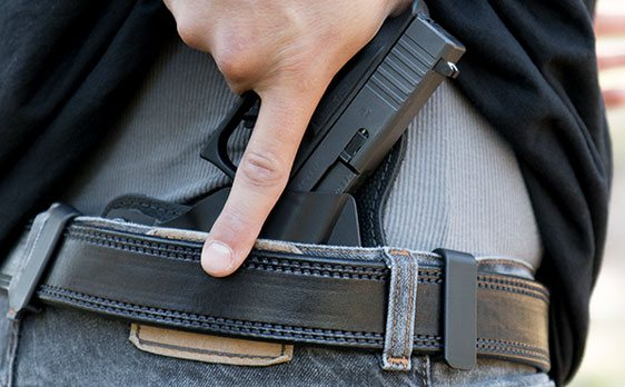 IWB holsters ( inside the waistband )