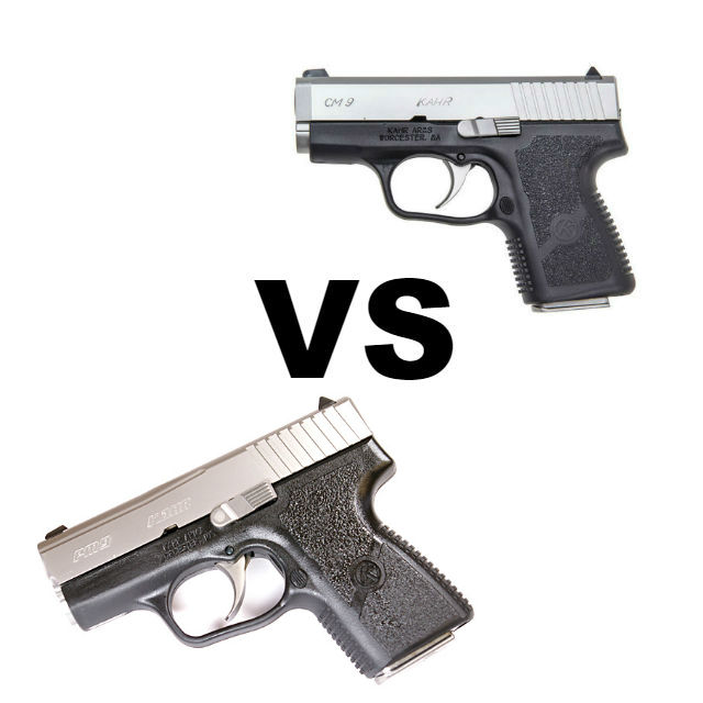 Should I Get The Kahr PM9 Vs CM9? - Alien Gear Holsters Blog