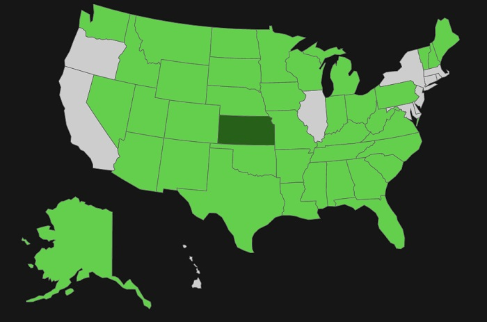 Kansas Concealed Carry - Alien Gear Holsters Blog on ohio reciprocity map, florida gun permit reciprocity map, carry permit reciprocity map, kansas concealed carry laws, concealed carry by state map, concealed carry reciprocity map, virginia state tax reciprocity map, alabama gun reciprocity map,