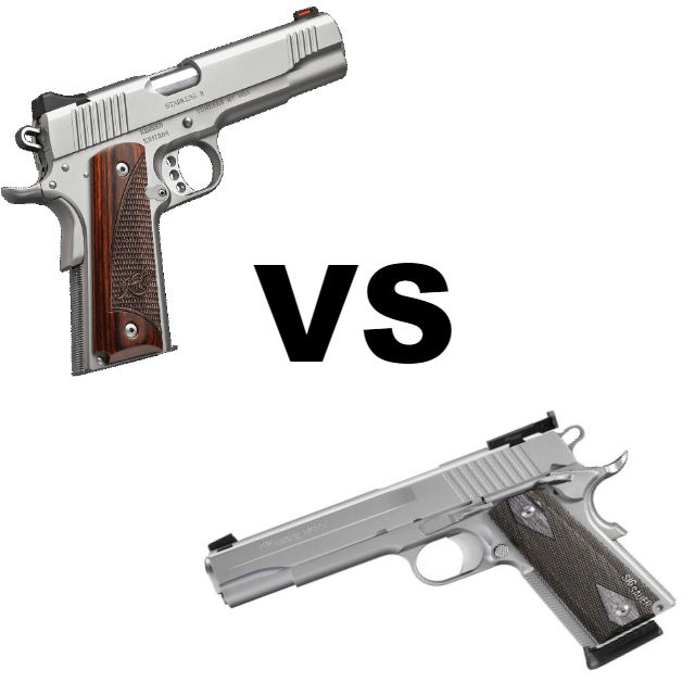 Sig 1911 vs Kimber 1911: Which Is Better? - Alien Gear