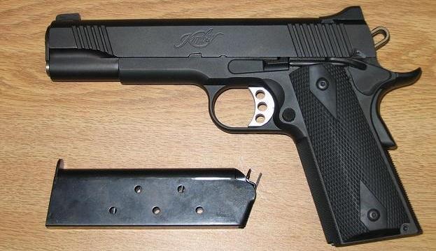 kimber-1911-handgun