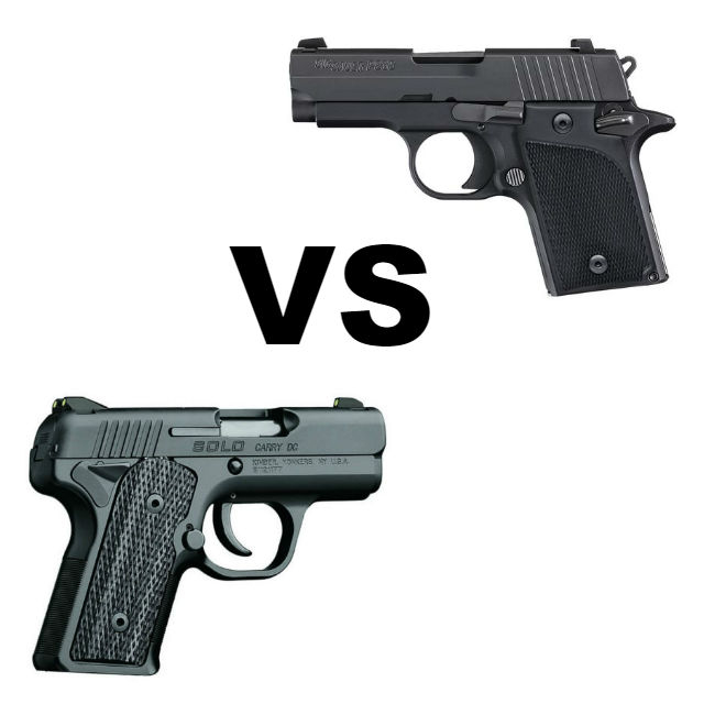 Sig P938 vs Kimber Solo For Concealed Carry - Alien Gear